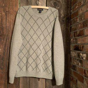 Brooks Brothers 100% Lambs Wool Crewneck Sweater
